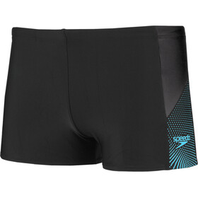 speedo Dive Aquashorts Men boom black/aquasplash/oxid grey
